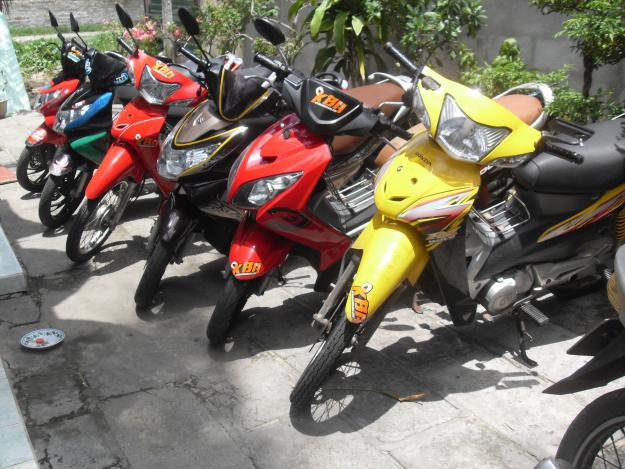 Motobike for rent in Dong Hoi - Quang Binh
