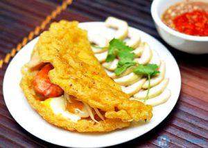 """Quang Binh specialities – """"Khoai cake"""""""