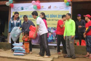 NETIN participated the volunteer program at Doong Village