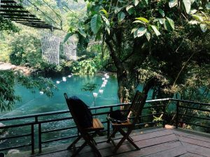 """Nuoc Mooc spring is beautiful like """"paradise"""" in Quang Binh"""