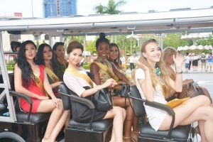 The Dong Hoi city tour – The Miss Grand International 2017