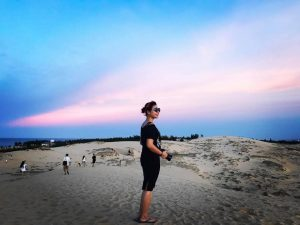 Enjoy the pictures of Quang Phu Sand Dune