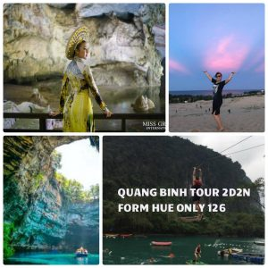 """Exploring Quang Binh """"the King of caves"""" from Hue only 126$"""
