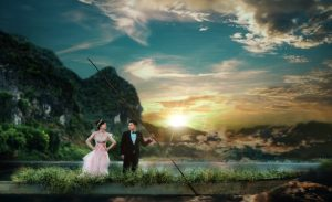 Quang Binh Attractions appear lively in the Wedding Album